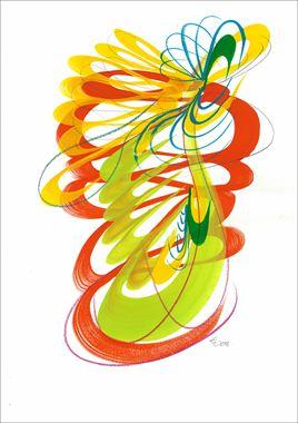 Resim Çiçekler VI-3