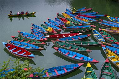 Picture of  Colorful Boats