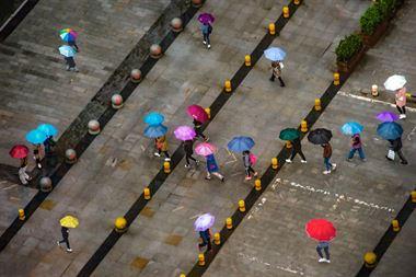 Resim Yağmurlu Bir Gün